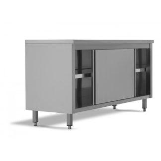 Armoires basses sans dosseret 100 x 70 x 85H cm avec portes coulissantes