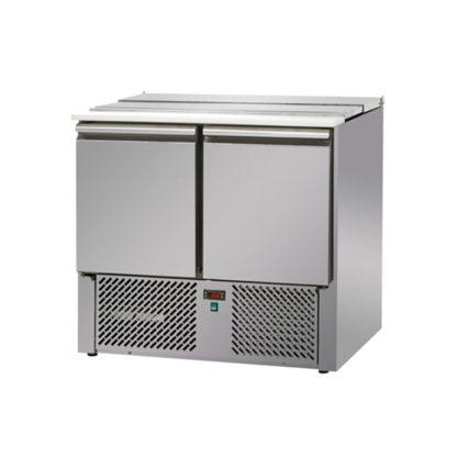 Saladette réfrigérée 2 portes