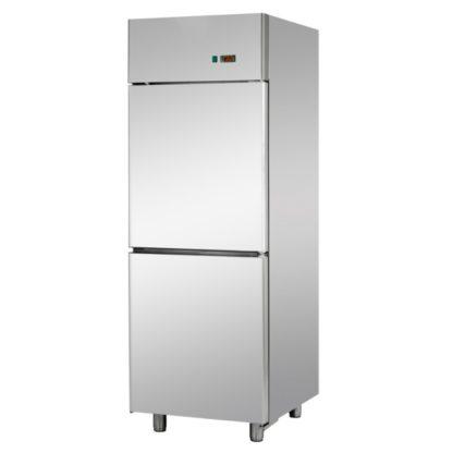 Armoires réfrigérées positives 2 portillons 600L inox