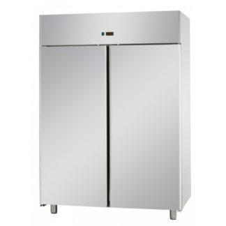 Armoires réfrigérées positives 2 portes pleines 1200 L inox