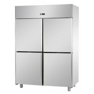 Armoires réfrigérées positives 4 portillons 1200L inox