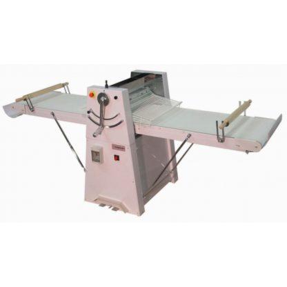 Laminoir à tapis sur socle tables courtes largeur utile de travail 500mm