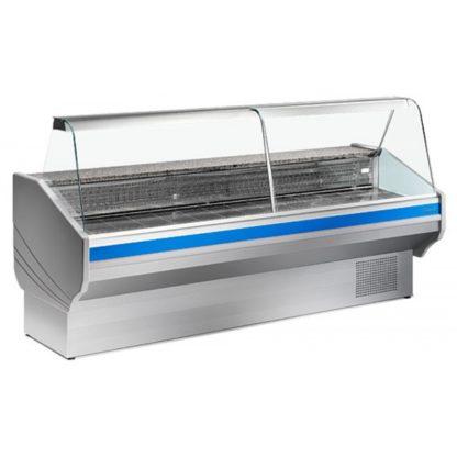 Vitrine réfrigérée 200 cm vitres bombées froid statique TICO