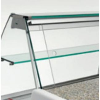Fermeture arrière en plexiglass 200 cm