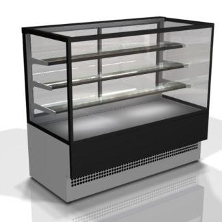 Vitrine réfrigérée pour pâtisserie à plusieurs niveaux