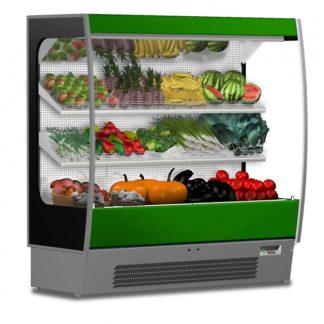 Vitrine frigorifique murale réfrigérée fruits et légumes 125 joues vitrées