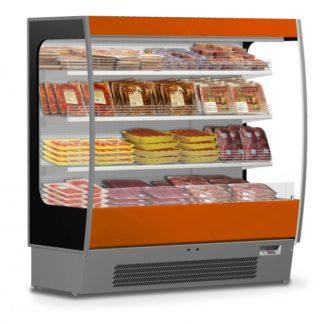 Vitrine murale réfrigérée spécial viande 100 joues vitrées vitrine froide