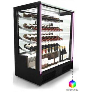 Vitrine refrigeree boisson design pour présentation du vin