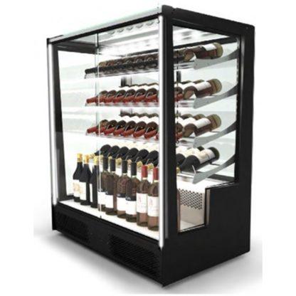 Vitrine refrigeree design pour présentation du vin