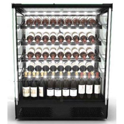 Vitrine réfrigérée design pour présentation du vin