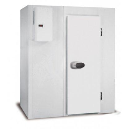 Mini Chambres froides démontables positives 2.45 m3 cellule de refroidissement