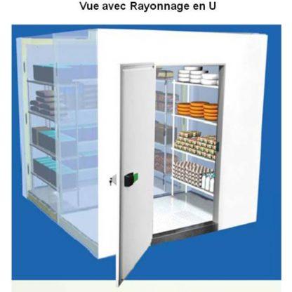 Mini Chambres froides démontables négatives 2.7 m3