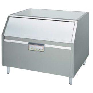Réserve de 400 kg pour machine glace écaille meuble cuisine inox
