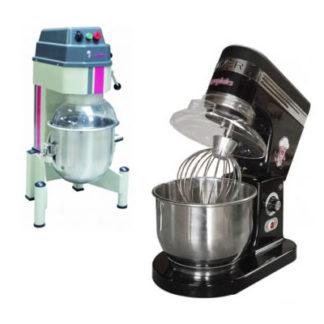 Batteurs mélangeurs en different options - Meuble cuisine inox