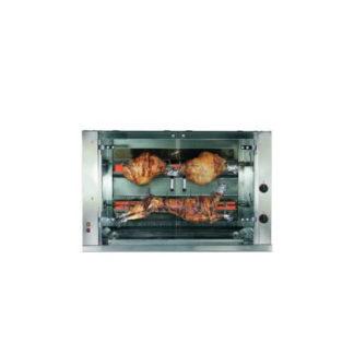 Rôtissoire gaz ou électrique professionnel - Meuble cuisine inox
