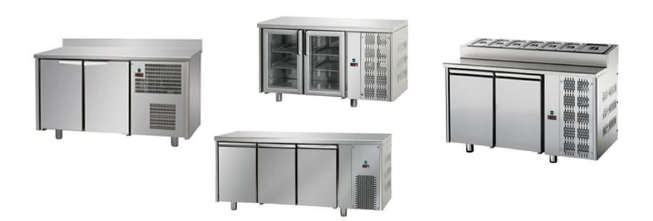 Tables réfrigérées