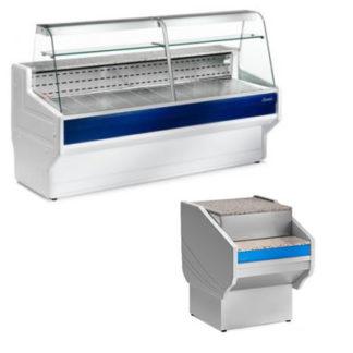 Meuble caisse et vitrine réfrigérée snack de Tico et Hill