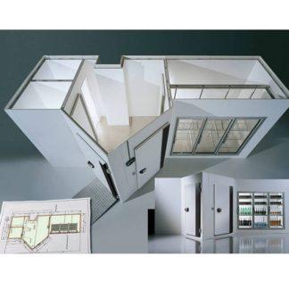 Chambre froide commerciale sur étude cellule de refroidissement
