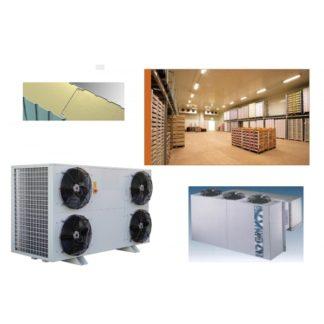 Chambre froide industrielle étude à la demande cellule de refroidissement