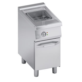 Friteuse électrique 15 litres four mixte professionnel