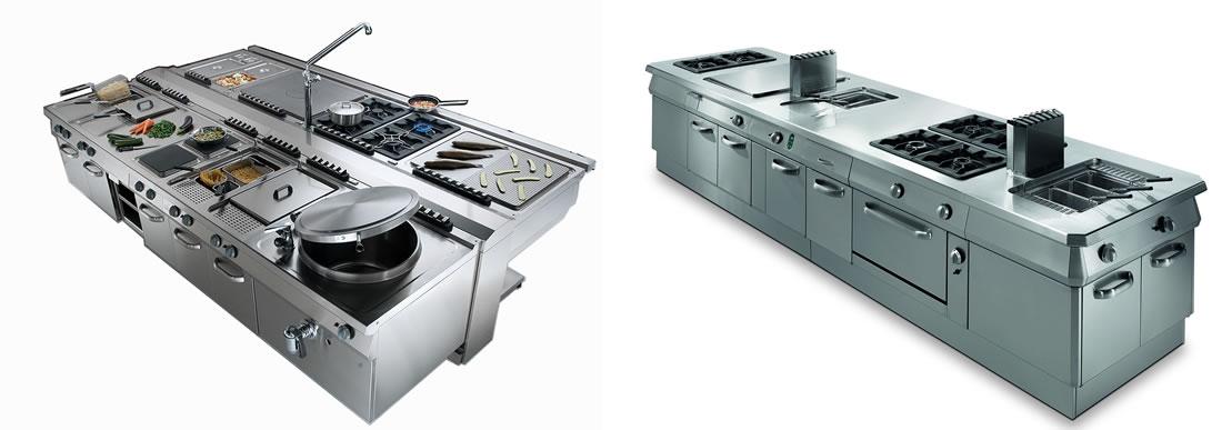 Piano de cuisson de grande cuisine
